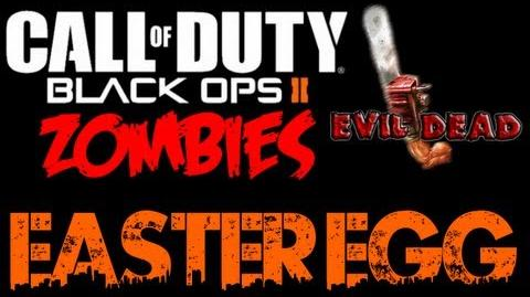 Black Ops 2 Zombies TranZit Evil Dead Easter Egg