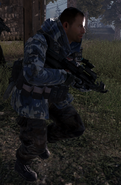 Inner Circle Blue Camouflage Soldier MW2