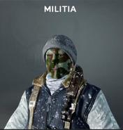 Militia Face Paint BO