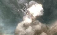 Soyuz 2 being destroyed Executive Order BO