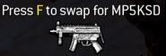 MP5K MP5KSD pick-up icon MW2