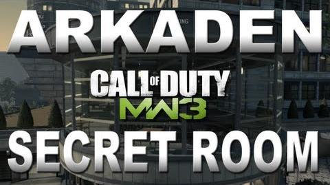 Modern Warfare 3 Secret Room on Arkaden