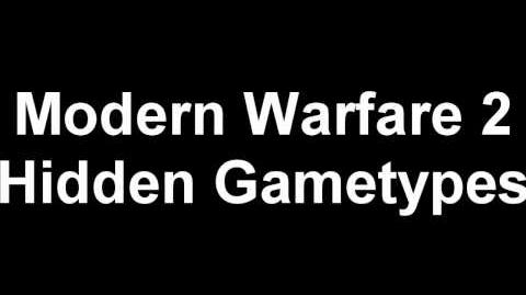Hidden Modern Warfare 2 Gametypes MP Voiceovers