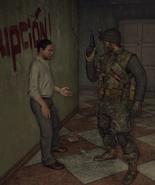 Mason gives Noriega a handgun BOII