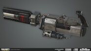 Ripped Energy Turret Model by Ethan Hiley AW
