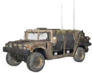 M1026 HMMWV No Doors model MW3