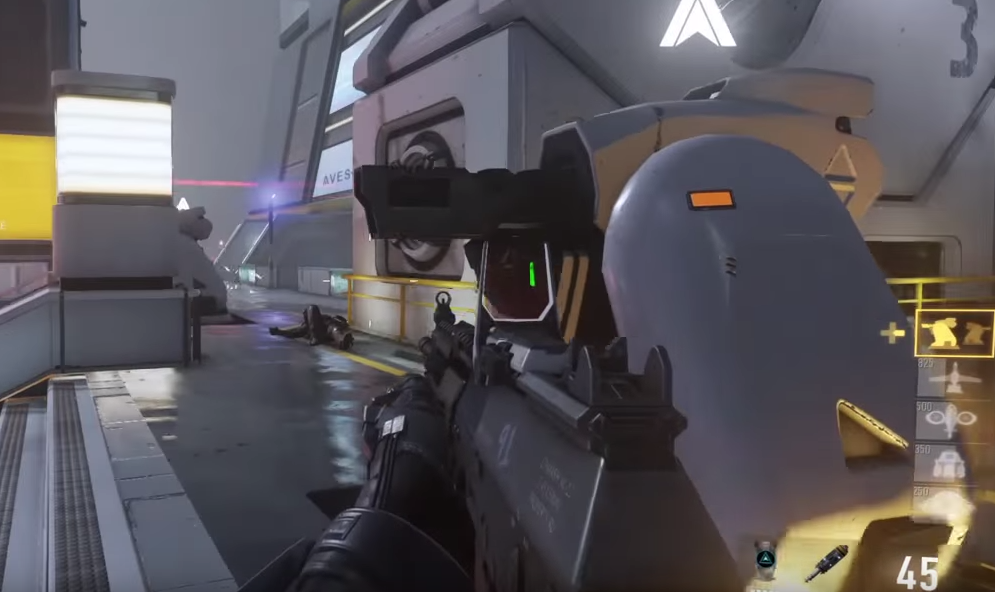 Ground Proximity Turrets In-game CoDAW