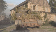 Call of Duty WWII M4 Sherman camouflage