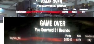 My Score Compared