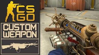 CS GO Custom Weapon Wunderwaffe DG-2