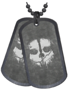 Dogtags Kill Confirmed model CoDG