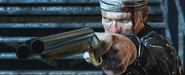 Michael Rooker Double-Barrel Shotgun