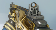 Peacekeeper MK2 First Person Gold Camouflage BO3