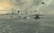 USAF attacking Hamburg Goalpost MW3