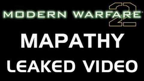 Call of Duty Modern Warfare 2 Mapathy Traile