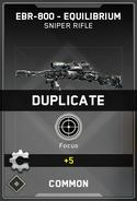Duplicate Supply Drop Card IW