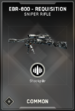 EBR-800 Requisition Supply Drop Card IW