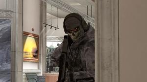 Ghost in Mueseum MW2