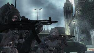 SAS London Conflict