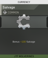 Salvage Unlock Card IW