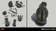Cluster Grenade concept IW