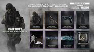 CoD Warzone Classic Ghost Bundle