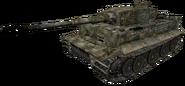 Model Tiger in CoD 2