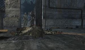 Убитый на полу