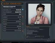 Alena Vorshevsky Profile