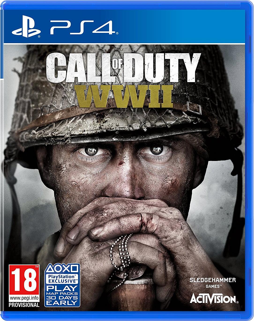 Call of Duty WWII okladka PS4