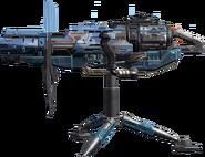 Gaia's Arm fortress model CoDO
