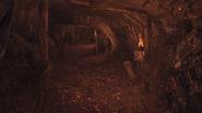 Temple wodospad tunel