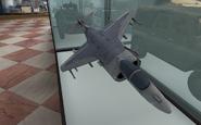 AV-8B Harrier II model Museum MW2