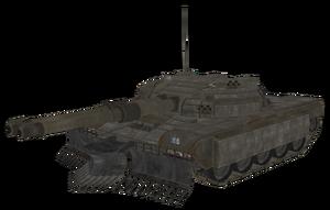 Soviet Prototype Tank model BOII