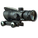 Weapon attachment acog 2