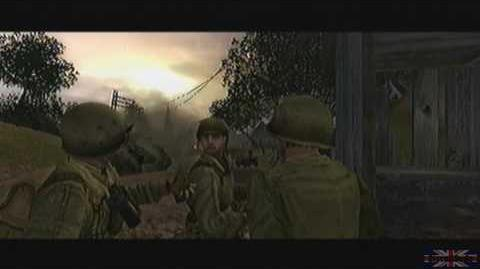 Call of Duty 2 Big Red One - France, Prologue
