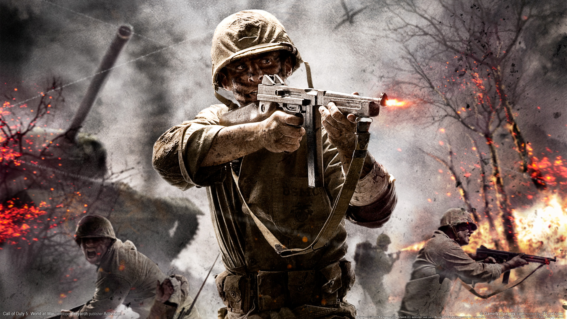 Wallpaper Call Of Duty 5 World At War