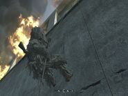 Macmillian rappelling off assasination spot One Shot One Kill CoD4