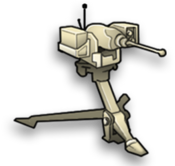 Specialty remote mg turret small