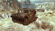 CODMW2 M1026 HMMWV AFGHAN