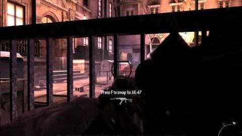 CoD Modern Warfare 3 Mission 11 Eye of the Storm
