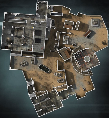 Dome Top down map