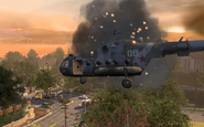 Mi-8 going down