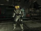 Zombie astronauta