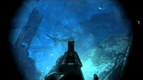 Call of Duty Ghosts - Kill all sharks in Into the Deep
