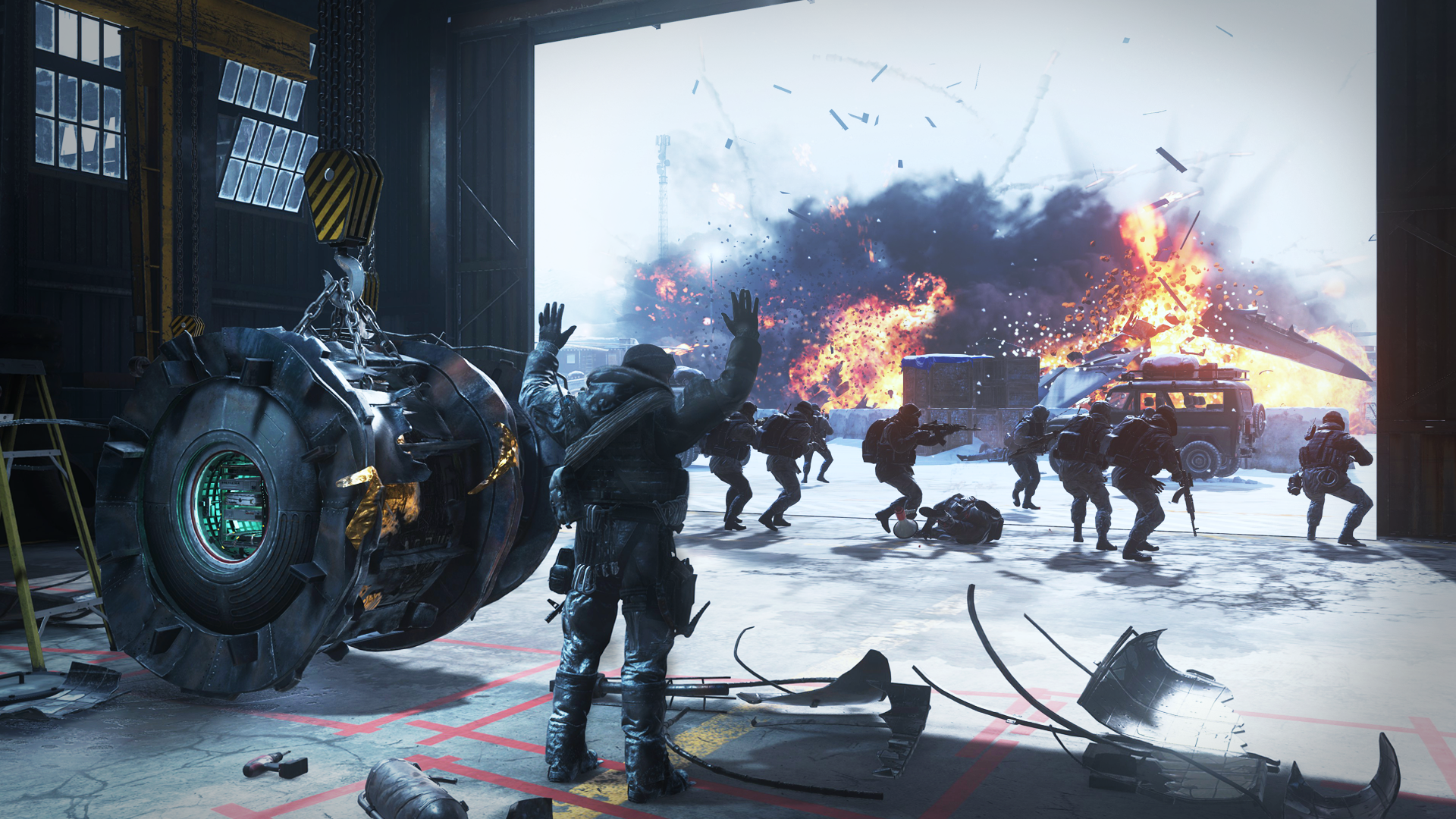Cliffhanger Mission Call Of Duty Wiki Fandom