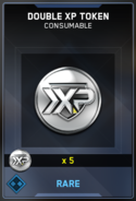 Double XP Token Supply Drop Card IW
