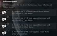 Random Supplies Description CoDG
