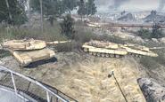 Abrams tanks Team Player MW2