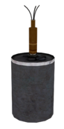 Bouncing Betty model WaW